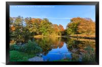 Reflected Colours of Autumn, Framed Print