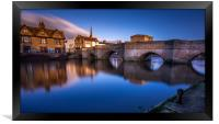 The Bridge of St Ives, Cambridge, Framed Print