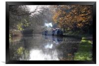 canal scene, Framed Print