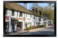 Prestbury, Cheshire, Framed Print