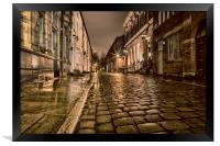 Wood Street - Bolton Lancashire, Framed Print