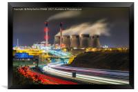 Ferrybridge Power Station, Framed Print