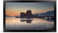 Eilean Donan Castle - Scotland, Framed Print