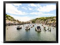 Looe, Cornwall , Framed Print