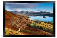 Autumnal Lakeland, Cumbria, England. , Framed Print