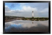 Perch Rock Lighthouse, Framed Print