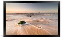 Walton on the Naze Sunrise Flow., Framed Print