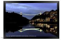 Clifton Suspension Bridge Bristol, Framed Print