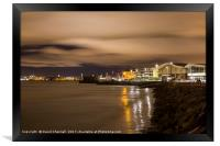 New Brighton Nightscape , Framed Print