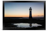 Perch Rock Lighthouse  , Framed Print