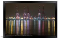 Liverpool 2 Container Terminal Magic, Framed Print