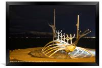 The Sun Voyager, Framed Print