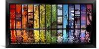 Northern Rainbow, Framed Print
