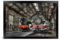 Steam Trains, Framed Print