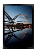 Infinity Bridge, Framed Print