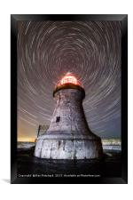 South Shields Lighthouse , Framed Print