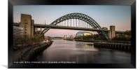 Tyne Bridge , Framed Print