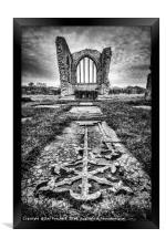 Egglestone Abbey , Framed Print