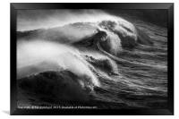 Wave Power, Framed Print