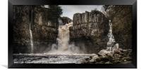 High Force Waterfall, Framed Print