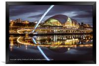 Gateshead Millennium Bridge, Framed Print
