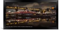 Swing Bridge, Framed Print