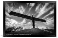 Angel of the North , Framed Print