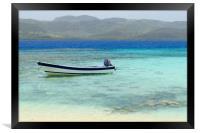 Dominican republic        , Framed Print