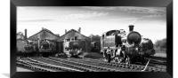 Didcot Railway Centre, Framed Print