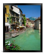 ANNECY, RHONE ALPS FRANCE , Framed Print