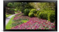 Guildford Castle Grounds ,Surrey England , Framed Print