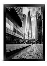 Londons the Shard, Framed Print