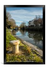 Kennet & Avon Canal, Framed Print