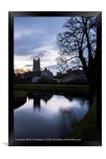 All Saints Church Nunney, Framed Print