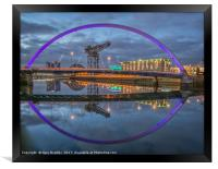 Glasgow Waterfront, Framed Print