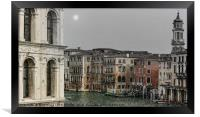 A WINTER'S DAY IN VENICE, Framed Print