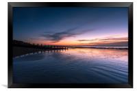 Eastbourne Early Sunrise, Framed Print