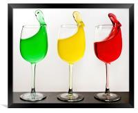 Three Cheers, Framed Print