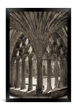 Canterbury Cathedral, Framed Print