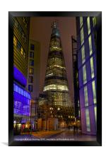 The Shard - London, Framed Print