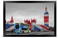 Graffiti in London, Framed Print