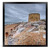 Martello Tower No 14, Framed Print