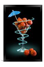 Fruit Cocktail, Framed Print