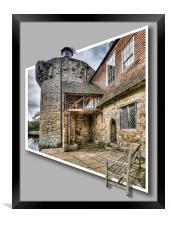 Scotney Castle, Framed Print