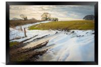 Winter Light, Framed Print