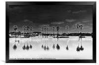 Moon Trees #2, Framed Print