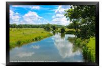 Waterways of England, Framed Print