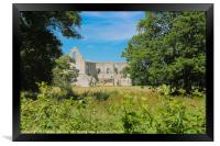 Newark Priory #2, Framed Print
