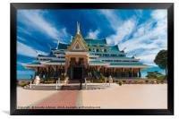 Wat Phar Pu korn, Framed Print