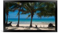 Paradise Island #2, Framed Print